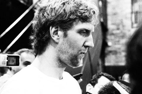 Dirk beim Interview