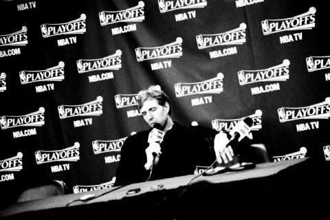 Pressekonferenz mit Dirk Nowitzki © PD